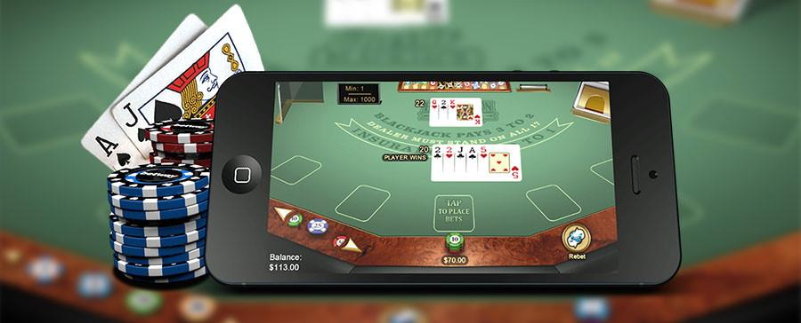 Spela livevasino i mobilen