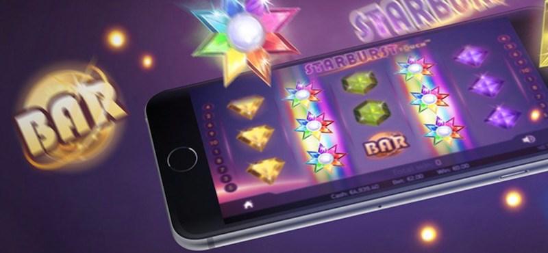 Spela Starburst i mobilen